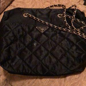 Handbags - Black Prada bag